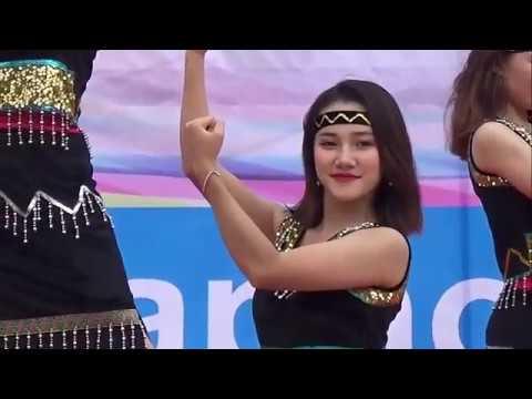 Múa – Cánh chim Đại ngàn – Do các cô gái Êđê, M'Nông Đại học văn hóa Hà nội