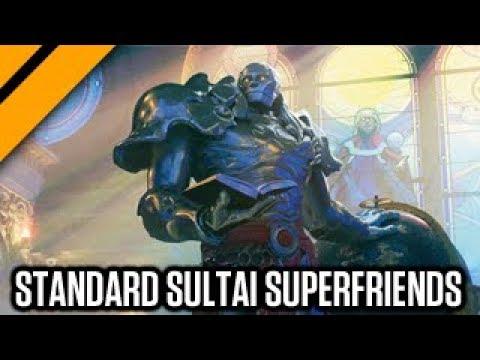 MTG Arena  Sultai Superfriends Standard Deck sponsored