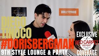 Diego Tinoco #OnMyBlock interview at Doris Bergman's 9th Style Lounge & Party Celebration #Emmys2018