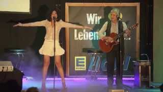 "Lucía Pérez sings in Schwarzenbruck on ""Fest der Nationen"" 9th june 2013 (1)"