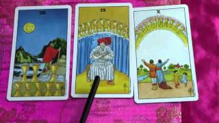 Cups Tarot Card Meaning Minor Arcana Suit Cups  Pt 4 - Eight Cups, Nine Cups & Ten of Cups