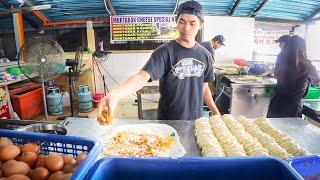 BONE MARROW Mee Rebus + SEXY CHEESE Martabak: Johor Bahru, Malaysia