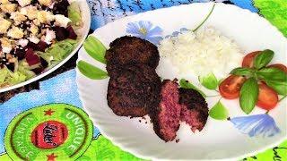 Таких сочных и очень вкусных мясных котлет со свеклой Вы еще точно не пробовали!