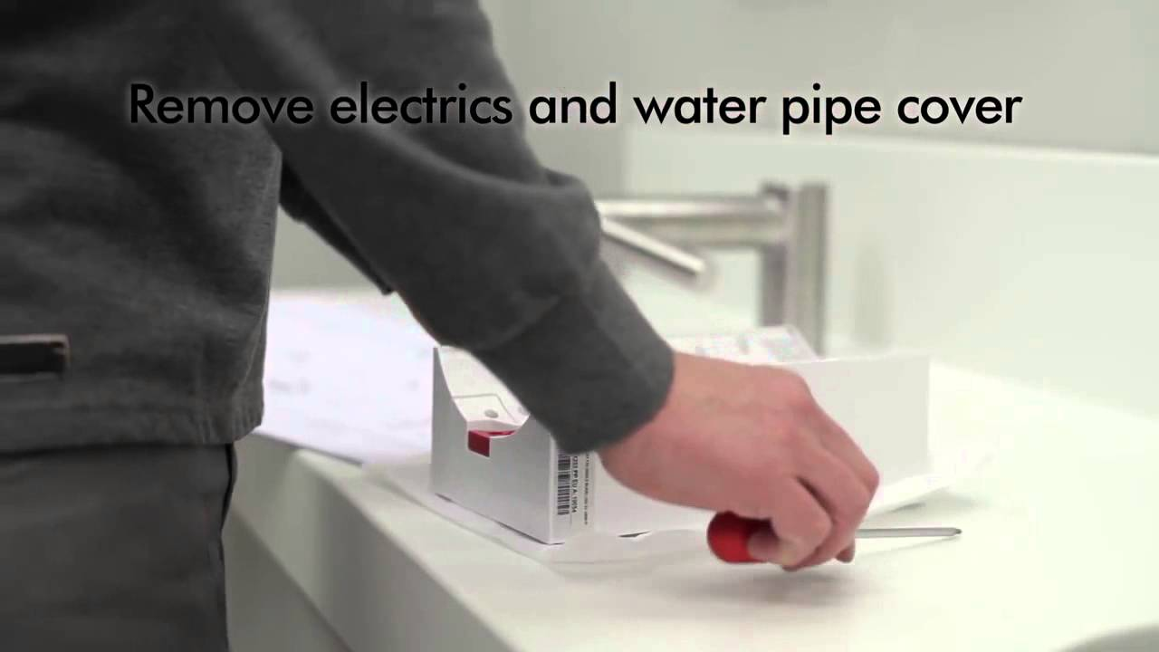 Dyson Airblade Tap AB09 and AB10 hand dryer How to install Official ...
