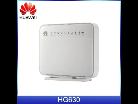 Download How to Configure Huawei HG-630 V2 for Airtel Broadband | Basic Configurations.