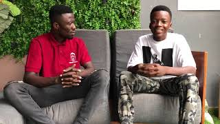 Kwaku Manu Aggressive Interview With BRA ALEX GH (The boy of the moment )❤🔥