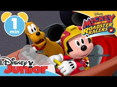 Mickey and the Roadster Racers  Frisbee Friends 🐶  Disney Junior UK