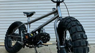 Bycycle Modified Video Big Tyres with engine
