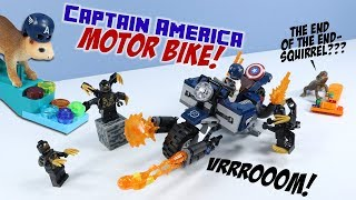 LEGO Avengers Endgame Captain America: Outriders Attack Set 76123