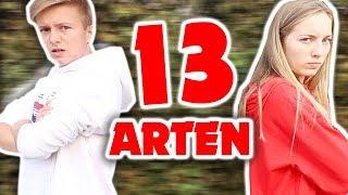 13 ARTEN SCHLUSS ZU MACHEN