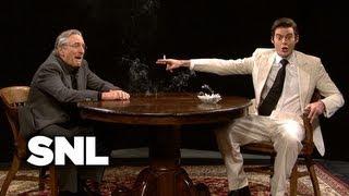 Vinny Talks to Robert De Niro - Saturday Night Live
