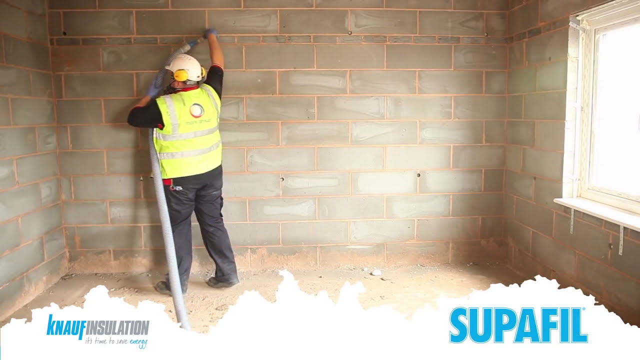 Supafil Blown Cavity Wall Insulation Part 4 Of 5