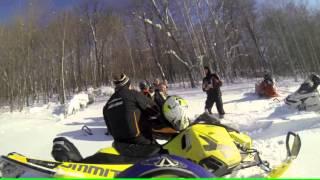 горные снегоходы(сезон 2015-2016, зима, горы, снег, ski-doo summit, polaris pro-RMK, snowmobile., 2016-04-04T00:28:46.000Z)