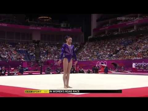 Kyla Ross 2012 Olympics QF FX