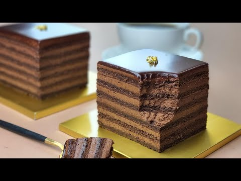 No Flour / Cup Measure / Moist Chocolate Cake Without Flour Recipe / Coffee syrup / Gluten Free - Boone Bake분 베이크