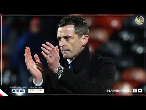REACTION | Jack Ross Post Dundee United