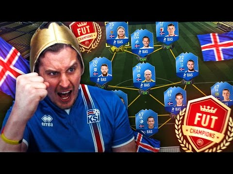 THE MOST IMPOSSIBLE ICELAND FUT CHAMPIONS CHALLENGE! FIFA 17 ULTIMATE TEAM