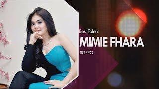 Mimie Fhara - Selain Menyanyi Jago Tari Jaipong | Best Talent SG Pro