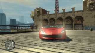 Grand Theft Auto 4 - Chevrolet Corvette C7 Stingray 2014 - Mods Gameplay [HD]