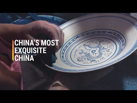 Those Famous Blue Chinese Bowls Come From This Town