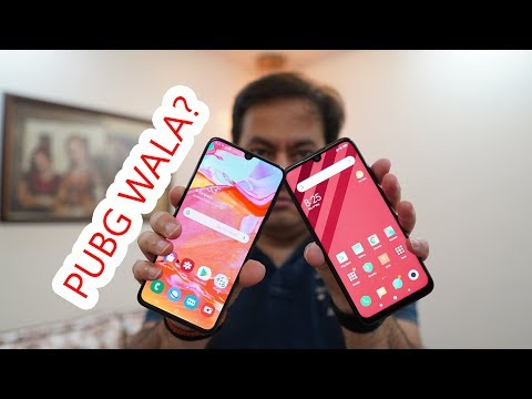 Redmi Note 7 Pro Vs Samsung Galaxy A70 - Which One Is PUBG Wala?
