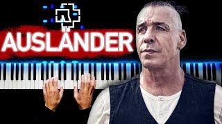 Rammstein - Ausländer | Piano cover