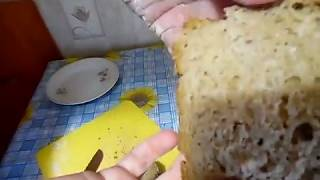 Бездрожжевой хлеб кирпичик