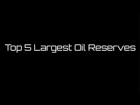 Top 5 Largest Oil Reserves In The World [Canada, Saudi Arabia And More!]