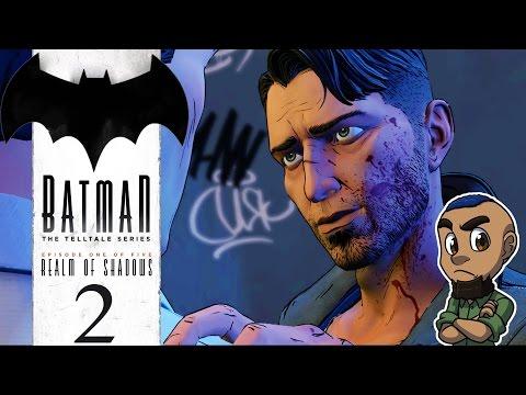BATMAN: THE TELLTALE SERIES | Episode 1 Gameplay Walkthrough | Part 2 (Falcone & The Penguin)