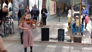 Young Violinist - Despacito - Downtown Santa Monica, CA