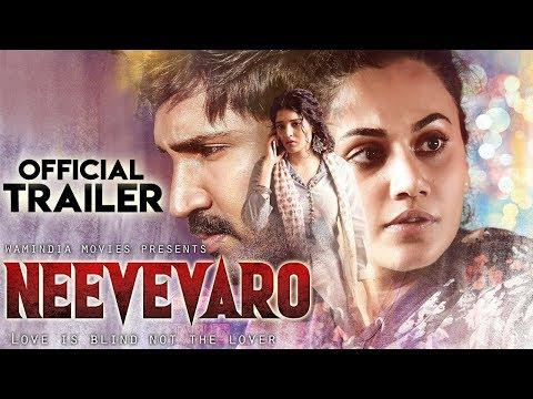 NEEVEVARO (2019) Hindi Trailer | Aadhi Pinisetty,Taapsee Pannu,Ritika | New South Movies 2019