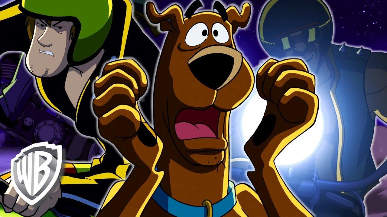Scooby doo in italiano caccia al fantasauro in moto wb kids