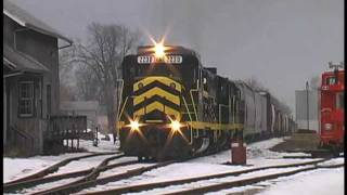 Norfolk Southern A Tour of the Thoroughbred Vol-4 (Indiana Winter)