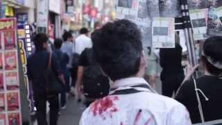 映画『サムライゾンビ・フラジャイル』のプロモーションイベント 『下北...