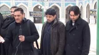 abbas mehdi reciting for ahl e bait tv