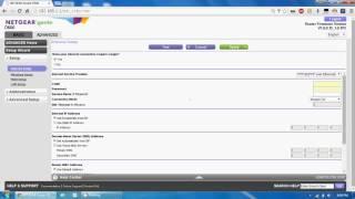 config wan network on netgear d500 d1500