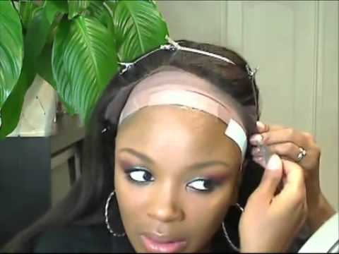 How To Wear Front Lace Wig Youtube