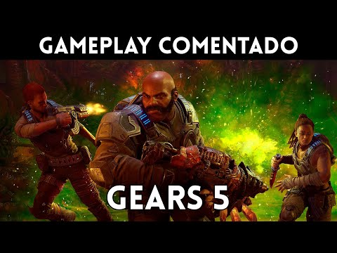 Gameplay español GEARS 5 beta MULTIJUGADOR TEST TECH (Xbox One, PC)