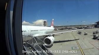Swiss [FLIGHT REPORT] Airbus A321-111 (HB-IOL) Flight LX1416 Zurich - Belgrade