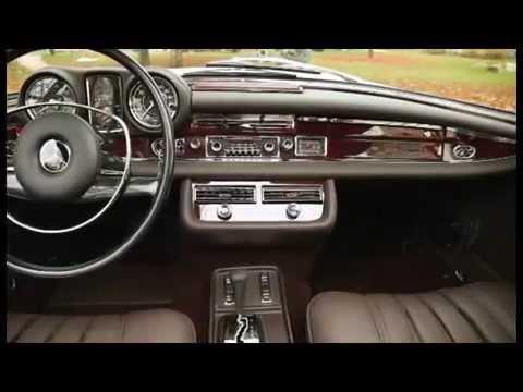 Mercedes 280 Se Cabrio 1966 Crema Modellino Auto 1:18 Maisto W111