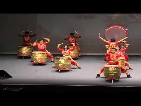 Chinese Drum Performance