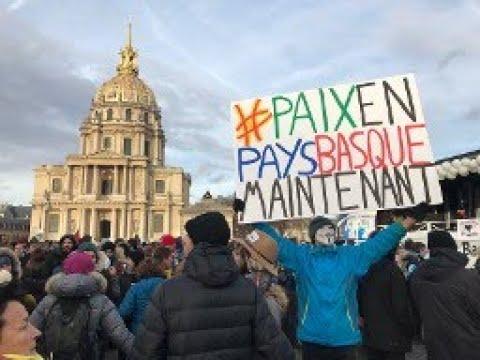 Manifestation Pour Les Prisonniers Basques À Paris