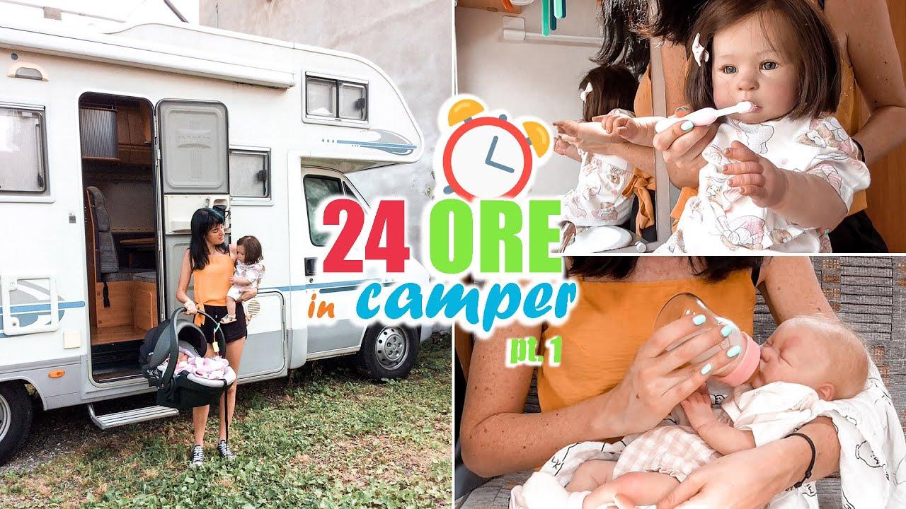 24 ORE in CAMPER #1 con Matilde e Bluebelle   Parte 1/2