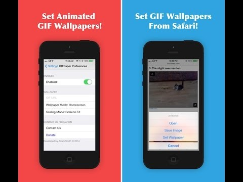 How To Set A Gif As Your Wallpaper Home Screen And Lock IPhone IPad IPod Touch