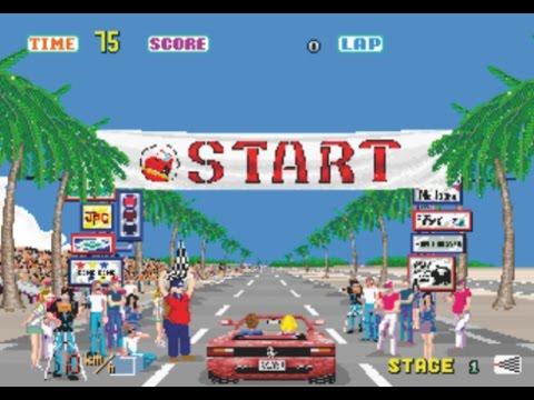 Out Run (1986) Sega