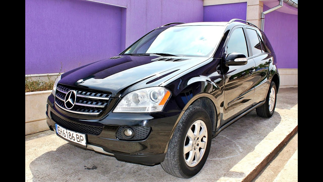 mercedes ml 320 cdi 4matic 2007 youtube. Black Bedroom Furniture Sets. Home Design Ideas