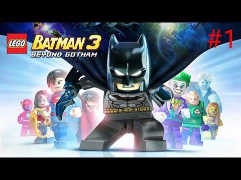 КРОК-УБИЙЦА- Прохождение игры Lego Batman 3: Beyond Gotham на андроид #1