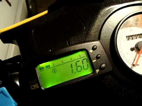 Счетчик моточасов с тахометром, проверка работы перед установкой .
