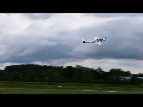 RISEN demo lowpass with over 320 km/h - Fastest UL in the World