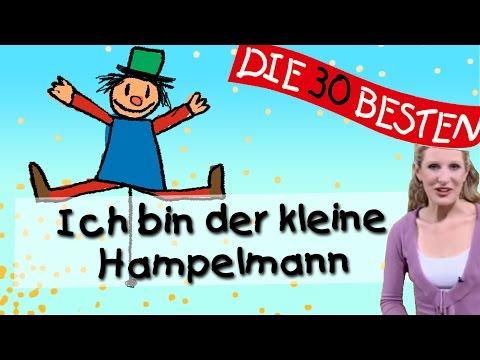 Ich bin der kleine Hampelmann - Anleitung zum Bewegen || Kinderlieder
